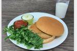 Burger aux lentilles